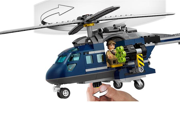 Urmarirea lui Blue - LEGO Jurassic World 75928 3