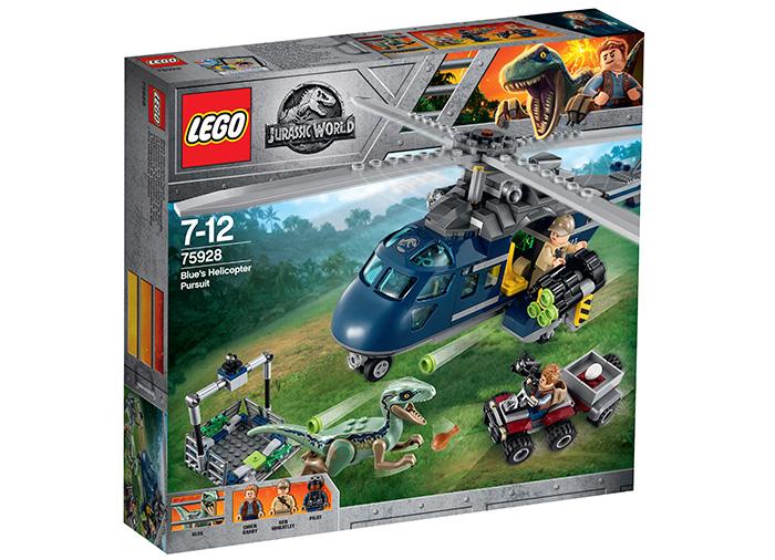 Urmarirea lui Blue - LEGO Jurassic World 75928 0