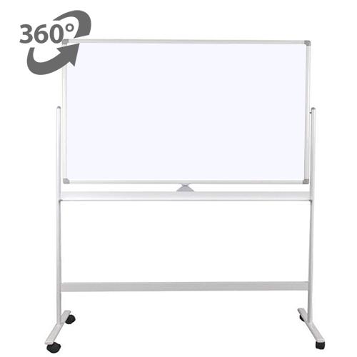 Whiteboard mobil cu 2 fete, 100×150 – VISUAL 0