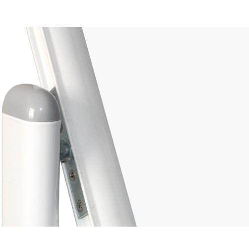 Whiteboard mobil cu 2 fete, 100×150 – VISUAL 3