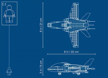 Arest cu parasutisti al politiei aeriene (60208) - Lego City7