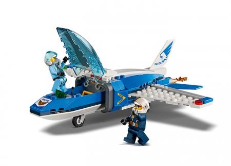 Arest cu parasutisti al politiei aeriene (60208) - Lego City4