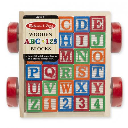 Carucior cu cuburi ABC [2]