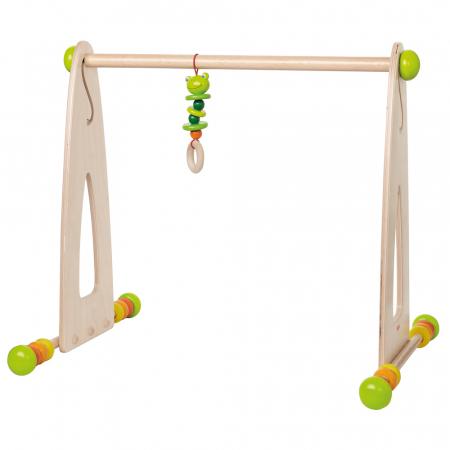 Centru de activitati din lemn - Play gym Color fun1