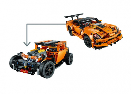 Chevrolet Corvette ZR1 -  LEGO Technic4