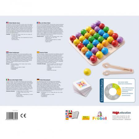 Joc de indemanare - Frobel Marble Game (377052) Haba Education [1]