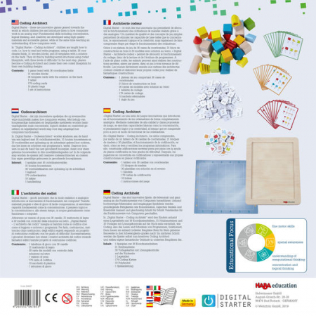 Joc introducere programare - DigitalStarter: Coding Architect (208627) Haba Education2