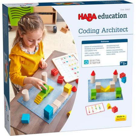 Joc introducere programare - DigitalStarter: Coding Architect (208627) Haba Education0