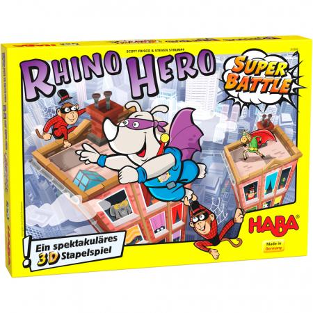 Joc Rhino Hero – Super Battle1