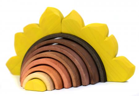Jucarie pentru stivuit - Floarea soarelui2
