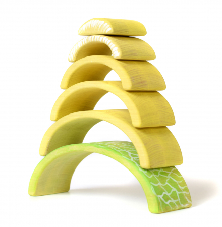 Jucarie pentru stivuit - Pepene galben [3]