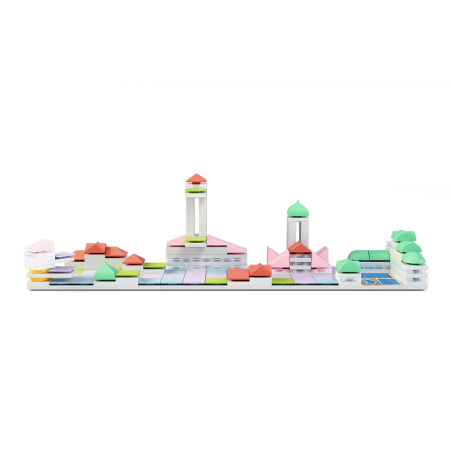 Kit constructie arhitectura - Cityscape+, 160 piece Architectural Model Kit1
