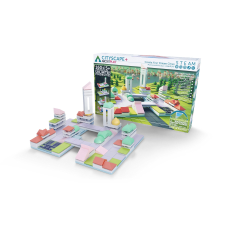 Kit constructie arhitectura - Cityscape+, 160 piece Architectural Model Kit0