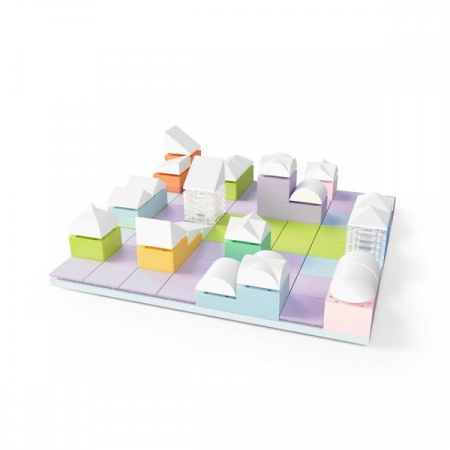 Kit constructie arhitectura - LITTLE Architect, 130 piece Architectural Model Kit5