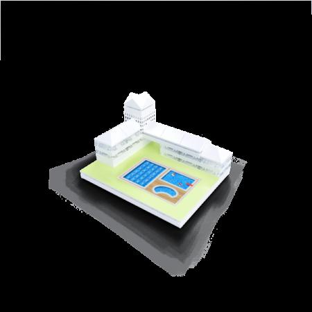 Kit constructie arhitectura - Masterplan 400+ piece Architectural Model Kit4