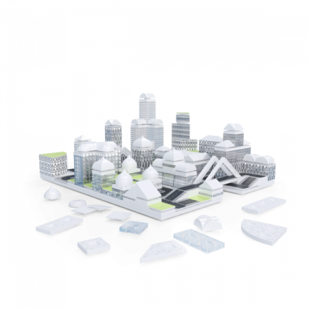 Kit constructie arhitectura - Masterplan 400+ piece Architectural Model Kit2