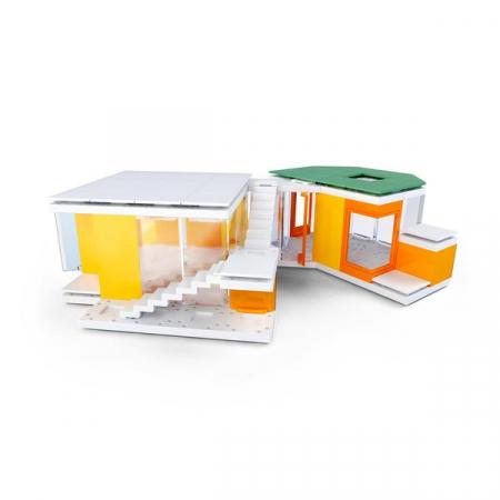 Kit constructie arhitectura - Mini Modern Colours 2.0, 105 piece Architectural Model Kit6