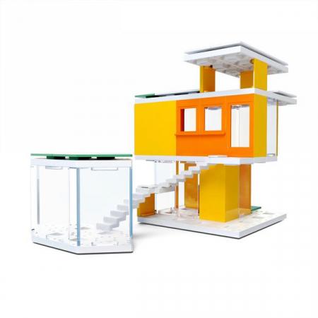 Kit constructie arhitectura - Mini Modern Colours 2.0, 105 piece Architectural Model Kit2