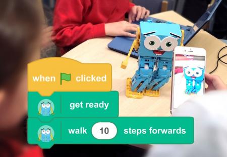 Kit robot programabil - Marty1