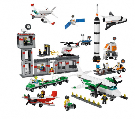 LEGO EDUCATION SPACE AND AIRPORT SET0