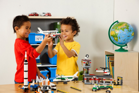 LEGO EDUCATION SPACE AND AIRPORT SET4