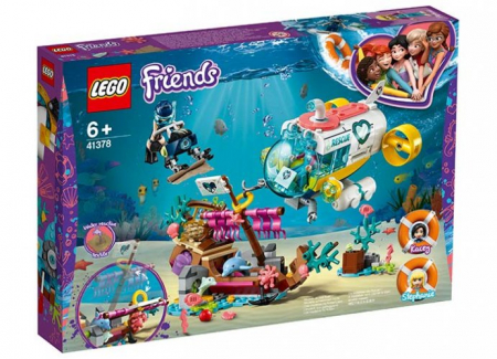 Misiunea de salvare a delfinilor - LEGO Friends (41378)0