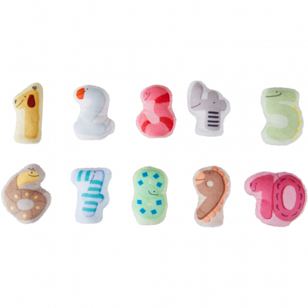 Papusi pentru degete - Numerele [1]