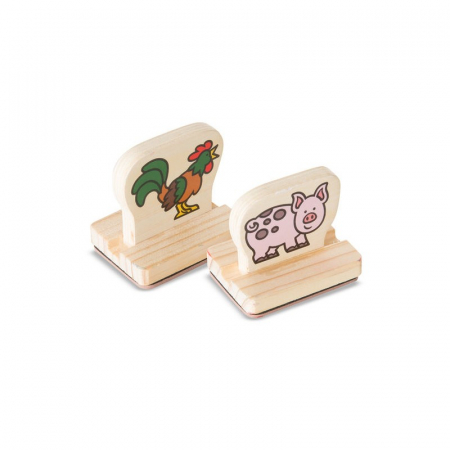 Primele mele stampile - Animale de la ferma2