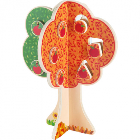 "Puzzle copacul anotimpurilor - Fröbel ""Seasons Tree"" (379242) Haba Education [1]"