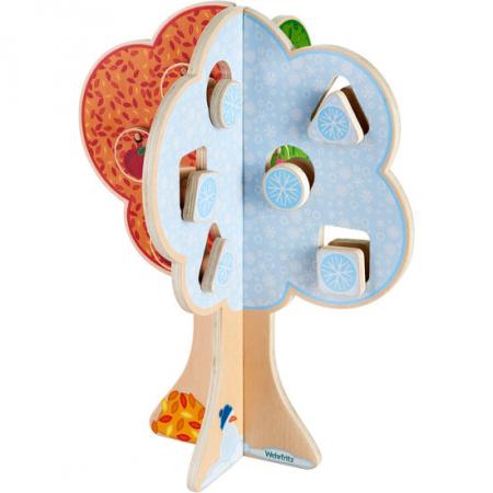 "Puzzle copacul anotimpurilor - Fröbel ""Seasons Tree"" (379242) Haba Education [2]"