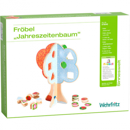 "Puzzle copacul anotimpurilor - Fröbel ""Seasons Tree"" (379242) Haba Education [7]"