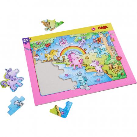 Puzzle in rama, cu unicorni - HABA [0]