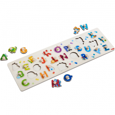 Puzzle lemn - Alfabetul (303188)1
