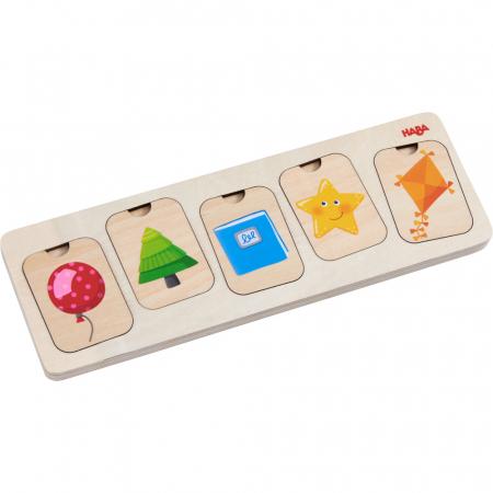 Puzzle lemn - Culori si forme (304586) [3]