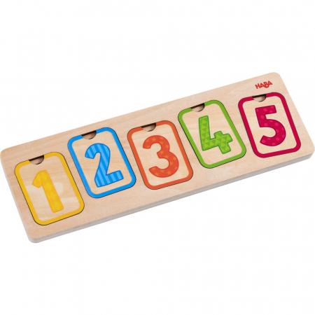 Puzzle lemn - Primele numere (304587)3