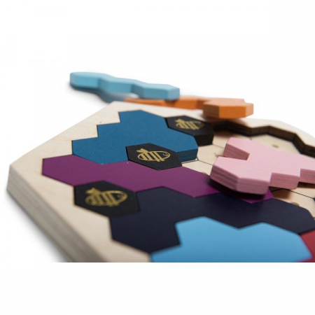 Puzzle lemn - Stupul albinelor1