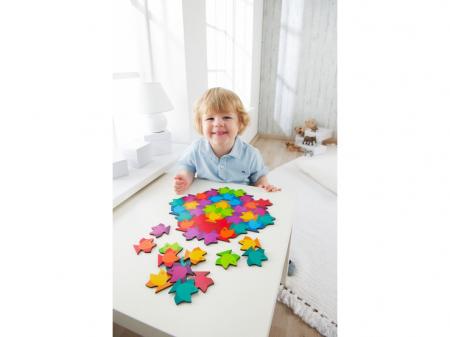 Puzzle mandala din lemn - Fish4