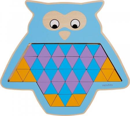 Puzzle mandala lemn - Animal trio1