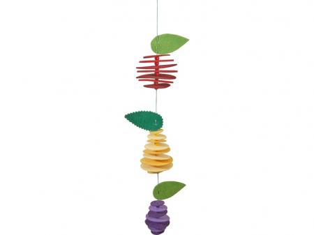 Set creativ din fetru - Fructele2