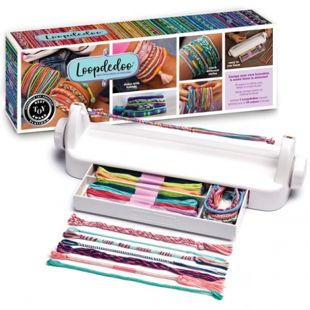 Set creativ bratari - Loopdedoo - Spinning Loom Kit3