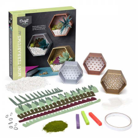 Set creativ - Mini Terrariums Kit3