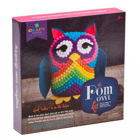 Set creativ - Pom Owl Kit0