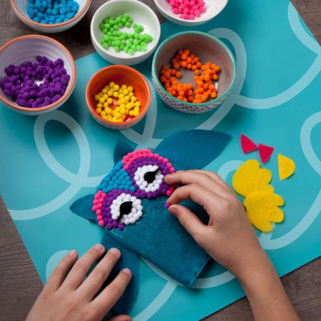 Set creativ - Pom Owl Kit1