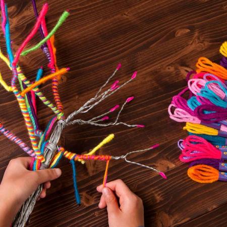 Set creativ - Yarn Tree Kit2