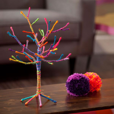 Set creativ - Yarn Tree Kit1