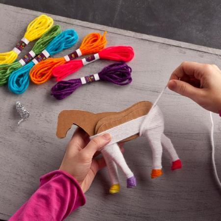 Set creativ - Yarn Unicorns Kit1