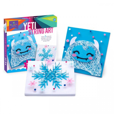 Set creativ - Yeti String Art Kit4