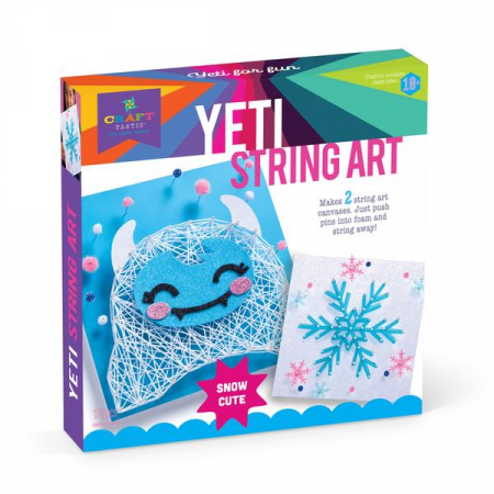 Set creativ - Yeti String Art Kit0
