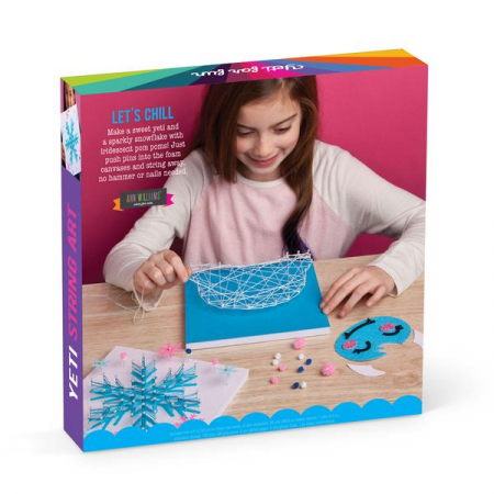 Set creativ - Yeti String Art Kit5