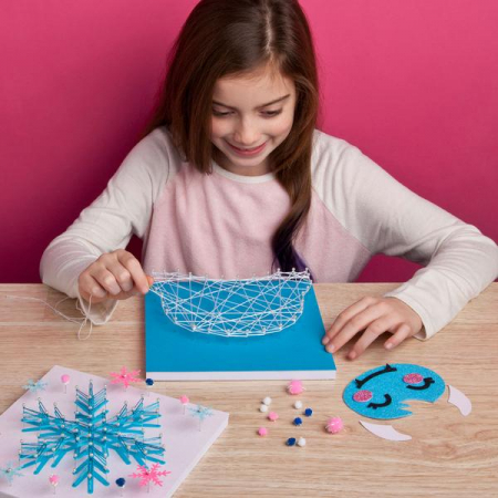 Set creativ - Yeti String Art Kit1